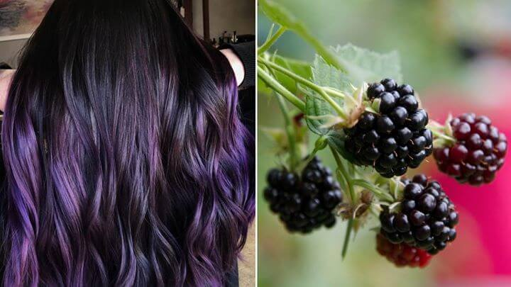 BERRY SEASON IS HERE…SO IS BLACKBERRY HAIR! Rockville, Maryland based hairstylist Megan Schipani created…