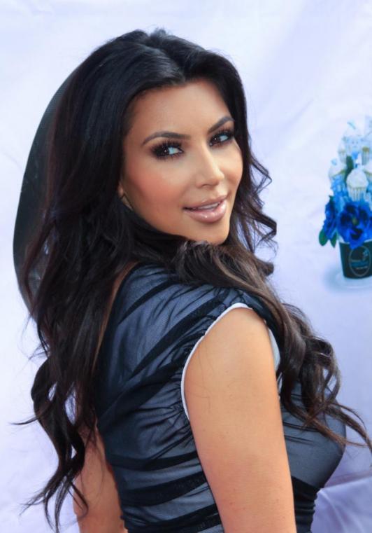 Kim Kardashian Hair Hairs The Bling