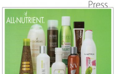 All-Nutrient: Beauty Launchpad - April 2012