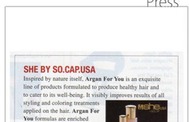 Hairs the Bling Press-July 2012-She by SO.CAP USA