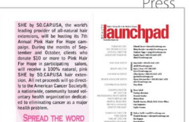 She by SO.CAP.USA - Beauty Launchpad - September 2012