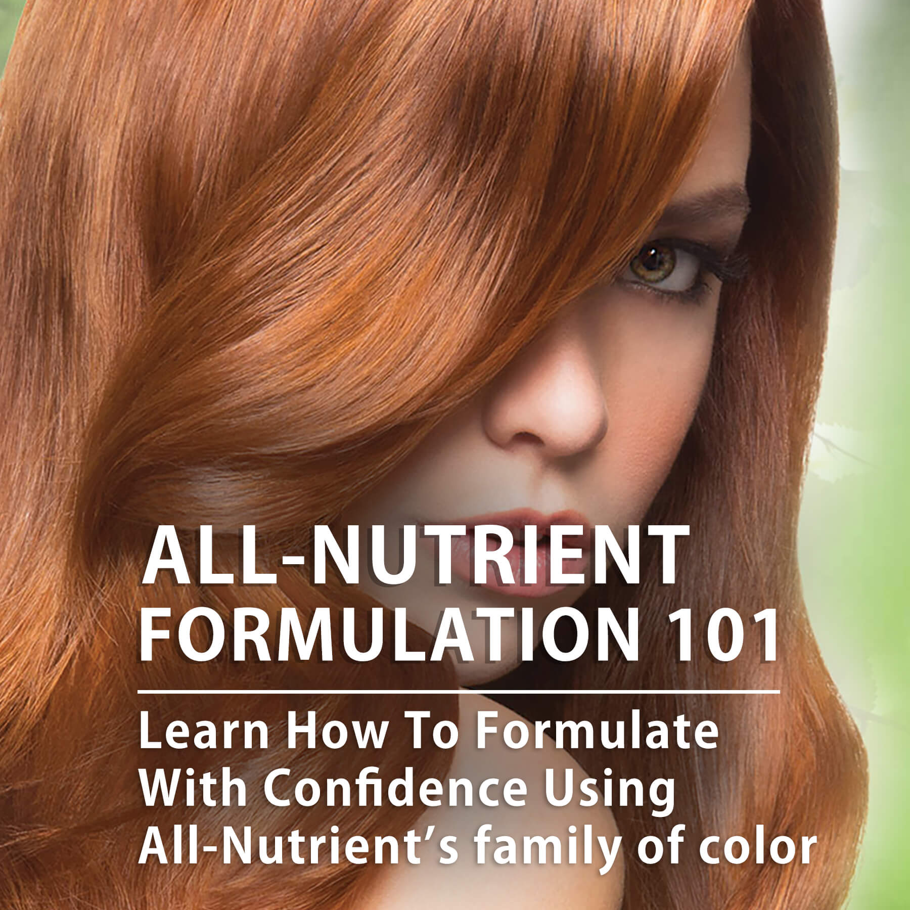 All Nutrient Formulation 101 Hairs The Bling