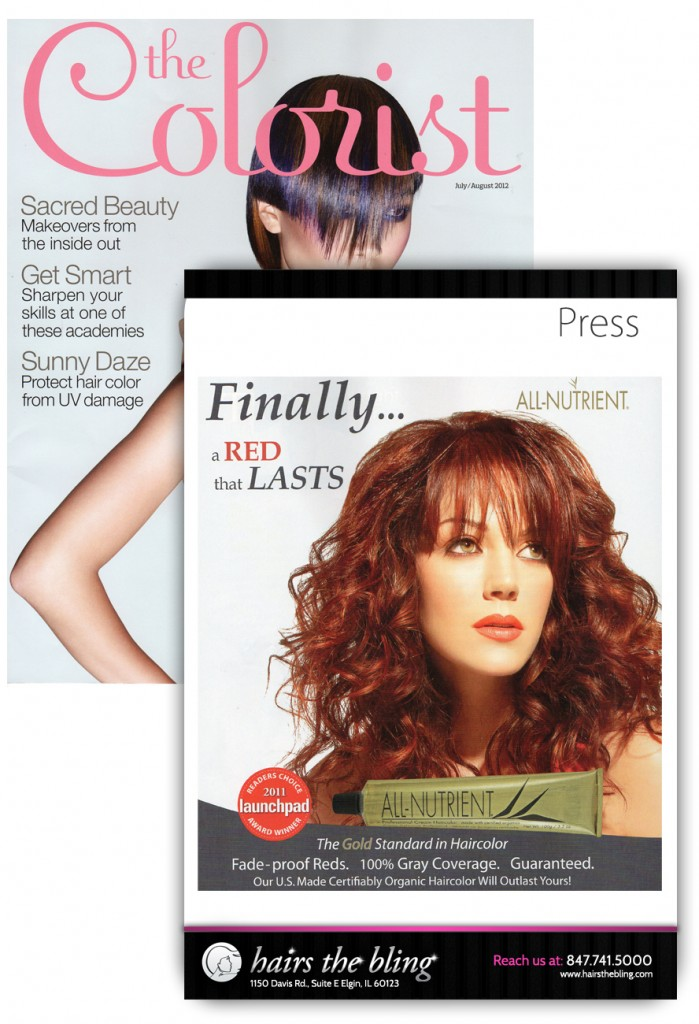 Hair's the Bling Press - July 2012 - All-Nutrient